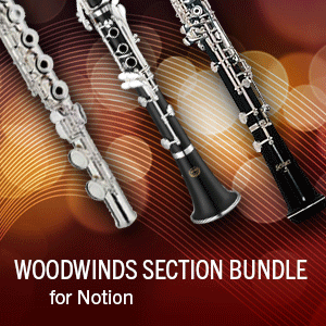 Woodwinds Sections and Duos Bundle