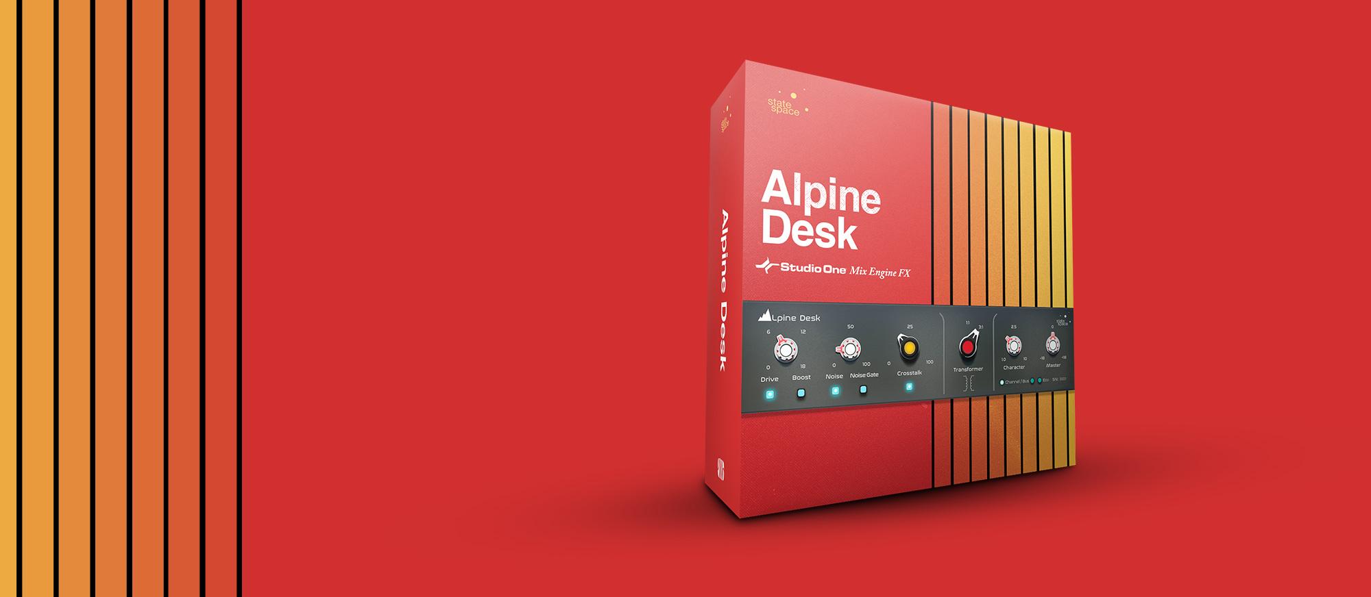 Alpine Desk box
