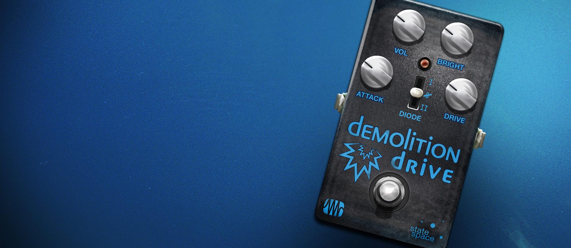 Demolition Drive user interface
