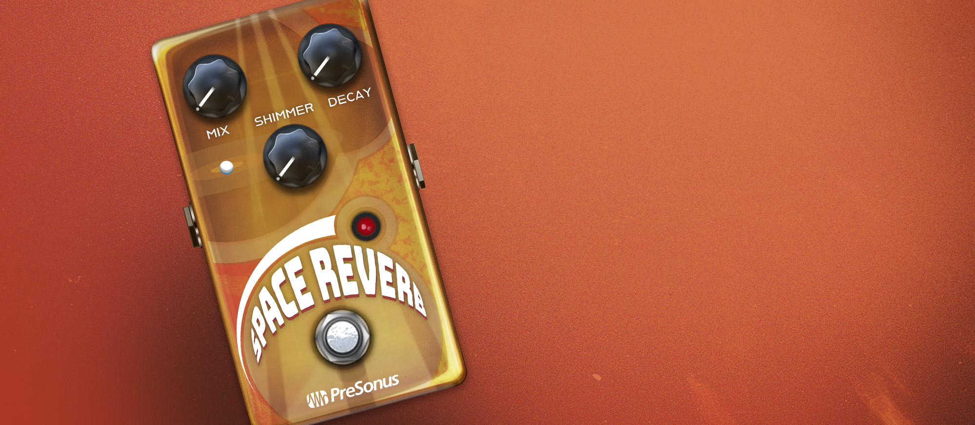 Space Reverb user interface