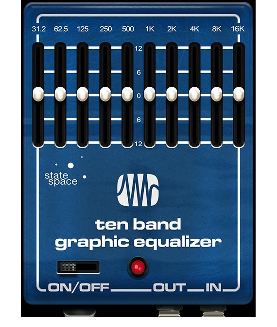 Blue EQ user interface