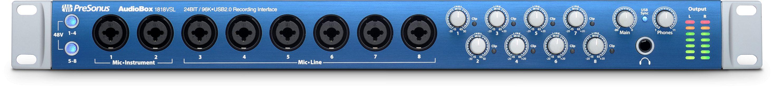 Refurbished - AudioBox 1818VSL | PreSonus Shop