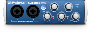 AudioBox 22VSL product image.