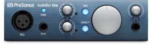 AudioBox iOne product image.