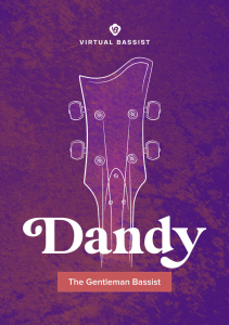UJAM - Virtual Bassist - DANDY product image thumbnail
