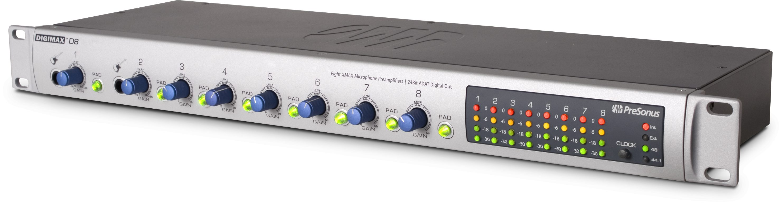 PRESONUS DIGIMAX D8 MICROPHONE PREAMPLIFIER