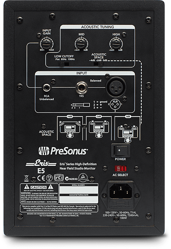 Eris E5 back panel