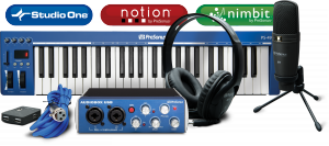 AudioBox Music Creation Suite product image.