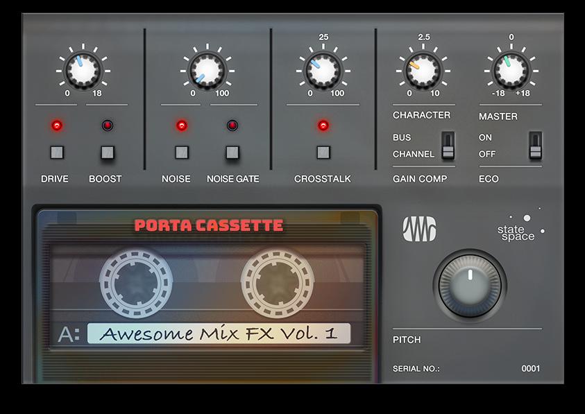 Porta Cassette UI
