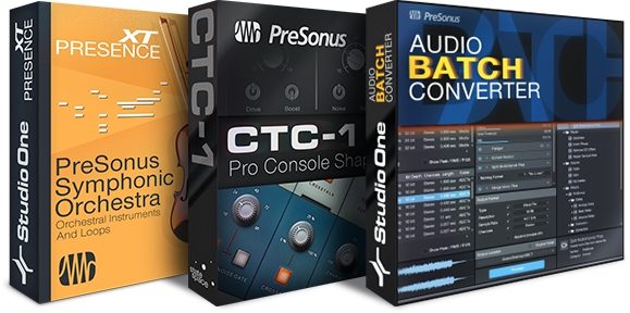 Studio One Add-on boxes