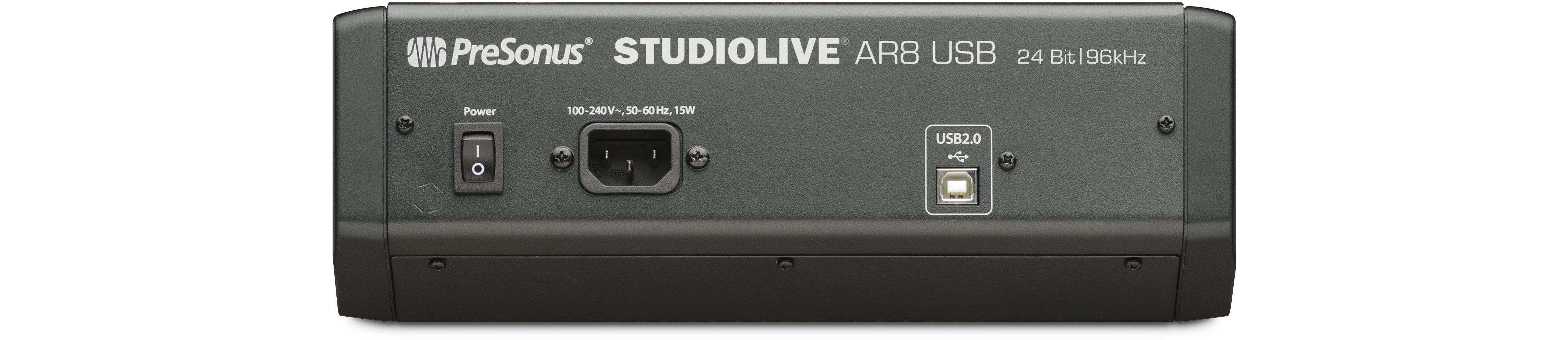 StudioLive AR8 USB | Images and Videos | PreSonus