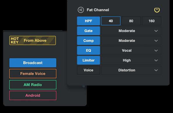 Fat Channel UI