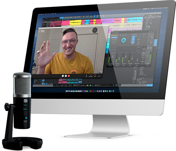 Revelator mixer UI