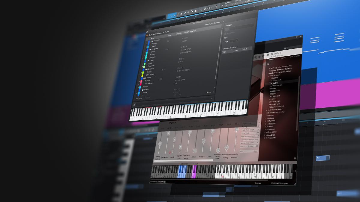 Interface utilisateur de la liste des variations de son