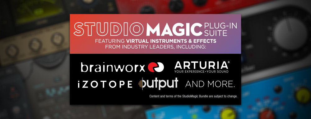 Studio Magic included product details.