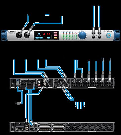 Studio 192 interface audio  USB