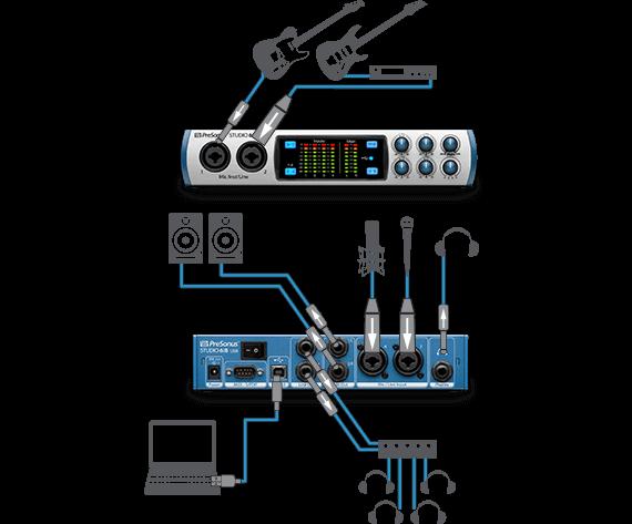 on presonus headphone amp schematic wiring