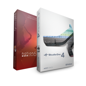 PreSonus Artist Bundle - Studio One 4 Artist and Notion 6 product image thumbnail