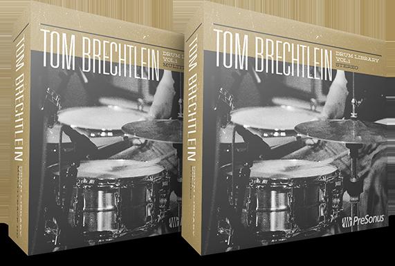 Tom Brechtlein Drums vol 1 boxes
