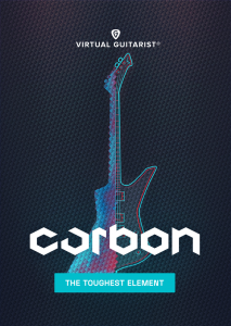 UJAM - Virtual Guitarist - CARBON product image thumbnail