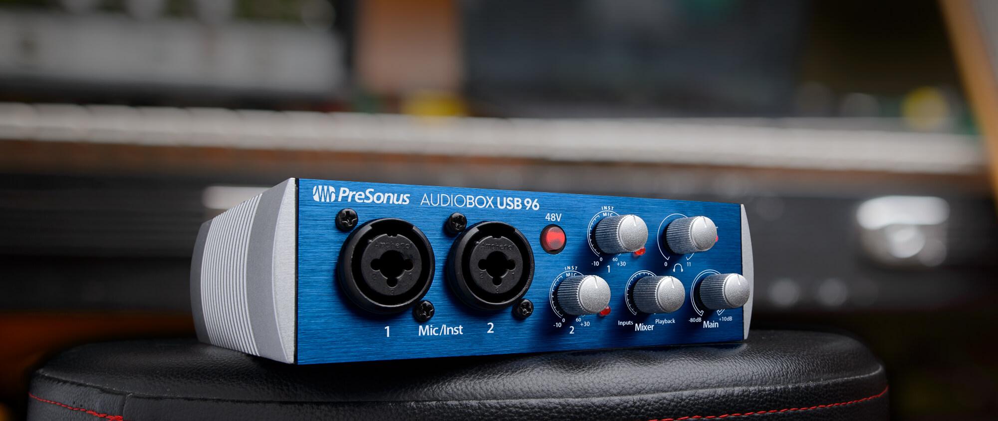 AudioBox USB 96 | PreSonus