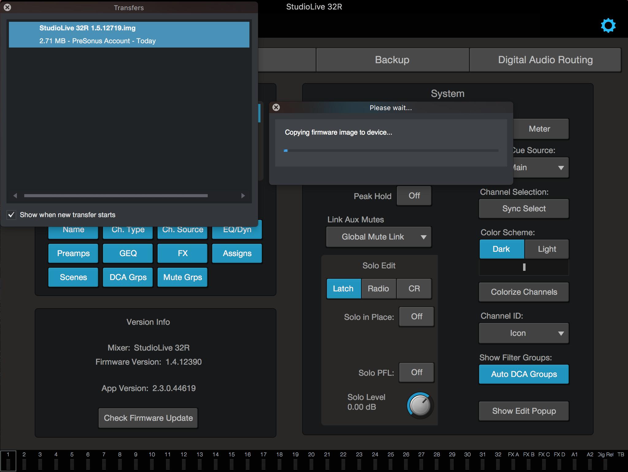 StudioLive Series III Rack mixer - Firmware Update – Knowledge Base