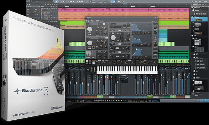 PreSonus Studio One 3 for Mac 3.5.4 注册版 – 划时代的音乐创作与制作软件-爱情守望者